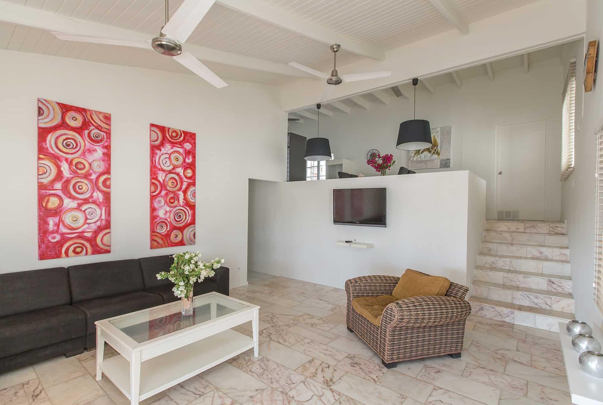 Appartement Pelikaan Woonkamer