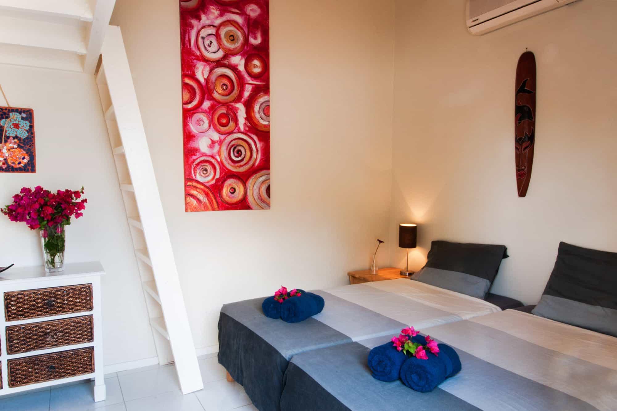 Appartement Trupial Slaapkamer